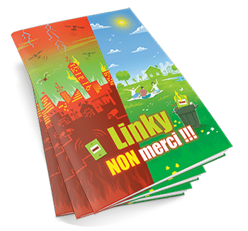Linky non merci : livret illustré de 28 pages